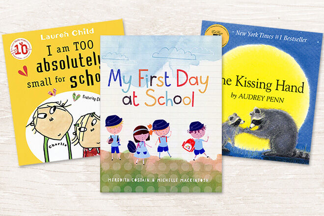 15 books about starting school