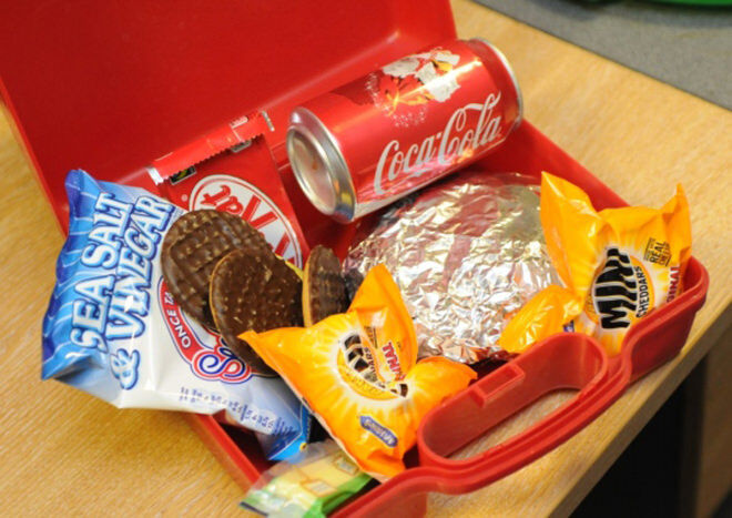 Bad Lunch! - How to pack a healthy lunch box (not like this one!)