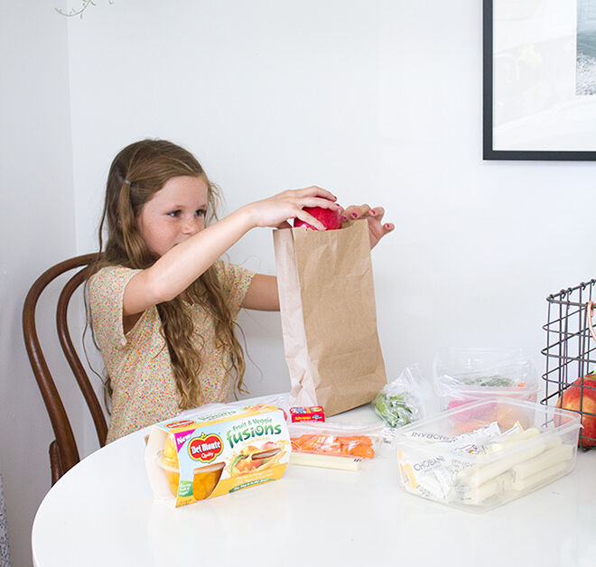 Getting the kids to help - ways to plan an awesome lunchbox