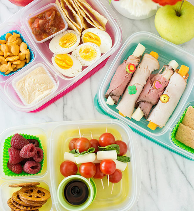 Sandwich free - ways to pack a school lunchbox that will come home empty