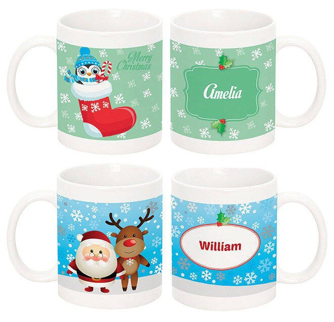 Personalised Mums - Night Before Christmas Mug