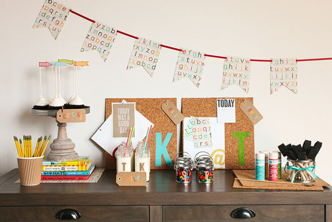Throw a party to celebrate the start of the school year.
