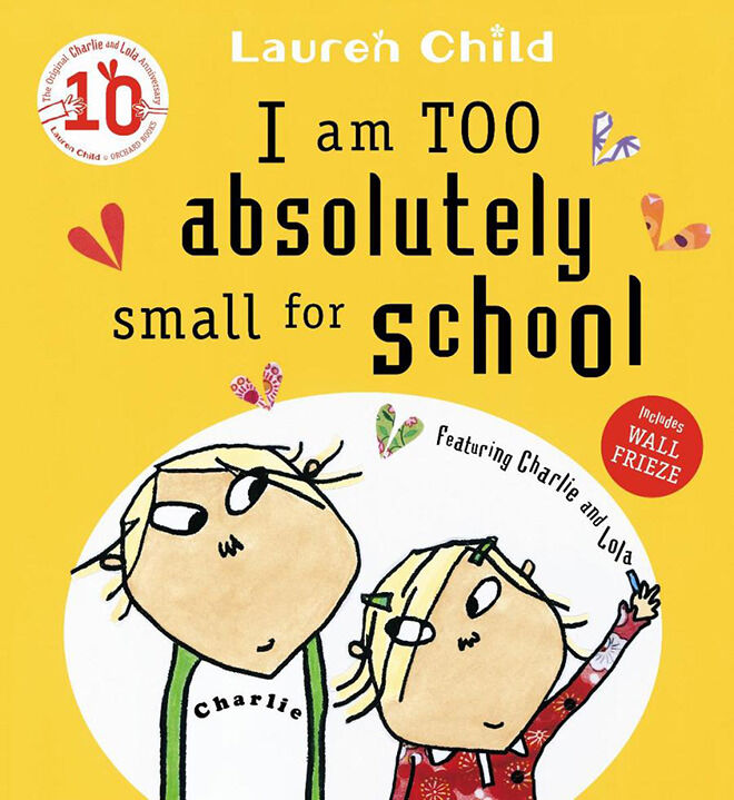 The best books to read when your child is starting school