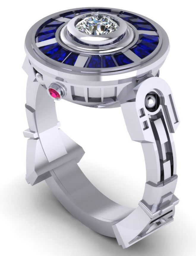 Engagement Ring - Ultimate Gift Guide for Star Wars Fames