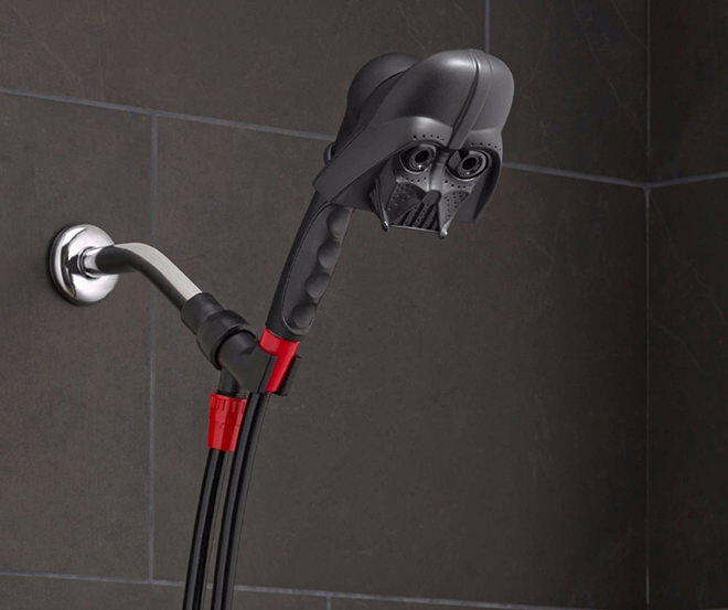 Darth Vader Shower Head - The Ultimate Gift Guide for Star Wars fans