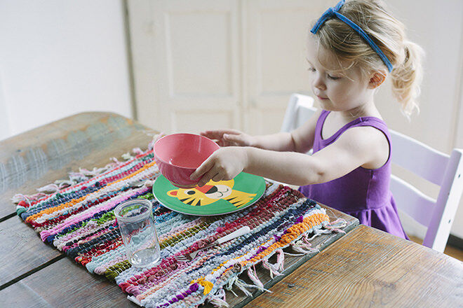 Act it out - easy step by step ways to teach your kids how to set the table