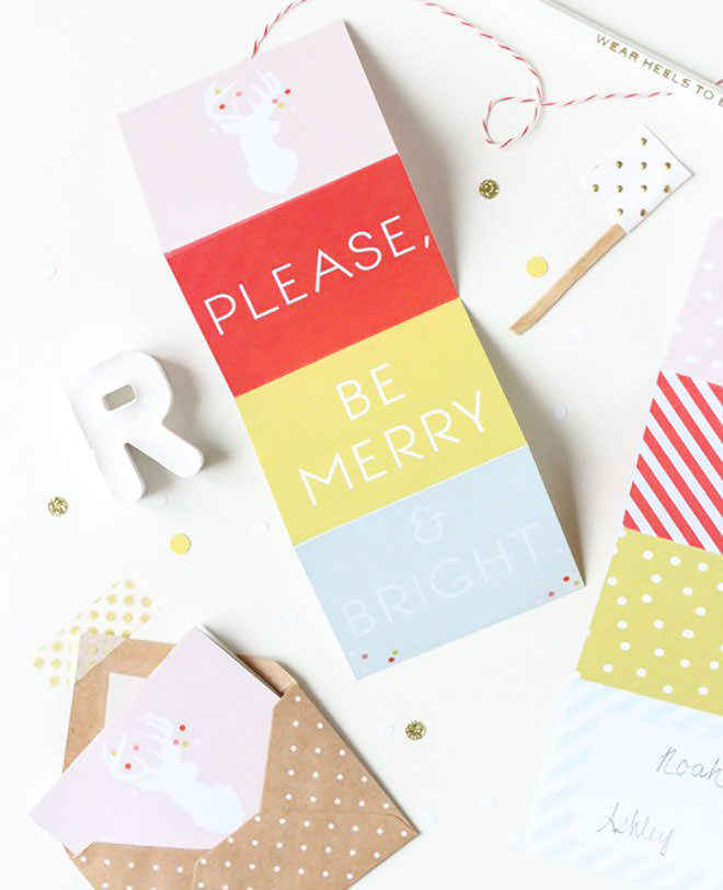 Free Christmas tags you can print yourself.