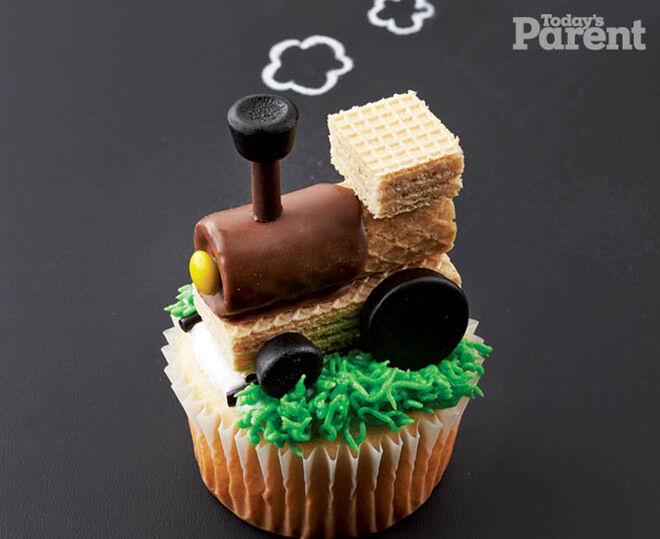 train - cupcake