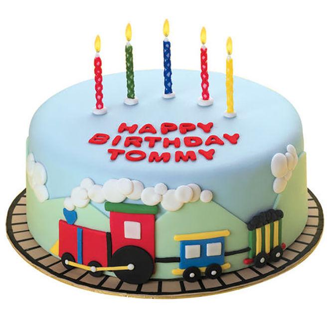 Vintage Train Cake Topper
