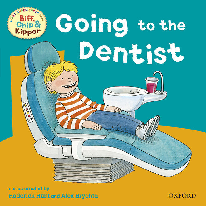 Going to the Dentist - Books to get your kids ready for their first trip to the dentist.