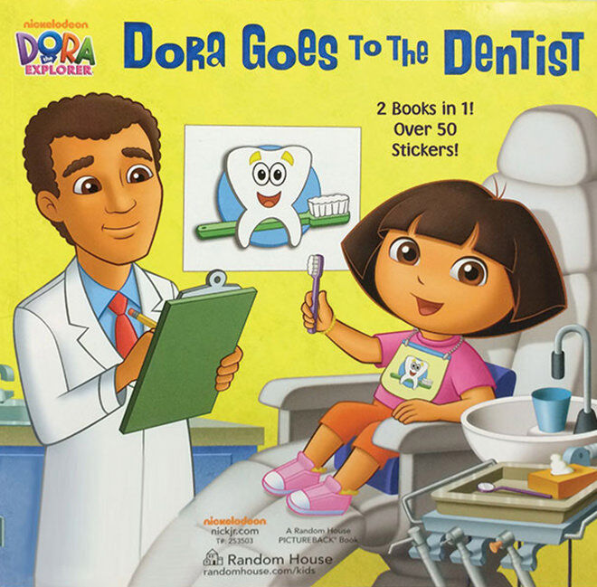 Dora goes to the Dentist - how to get your kids ready for their first trip to the dentist.