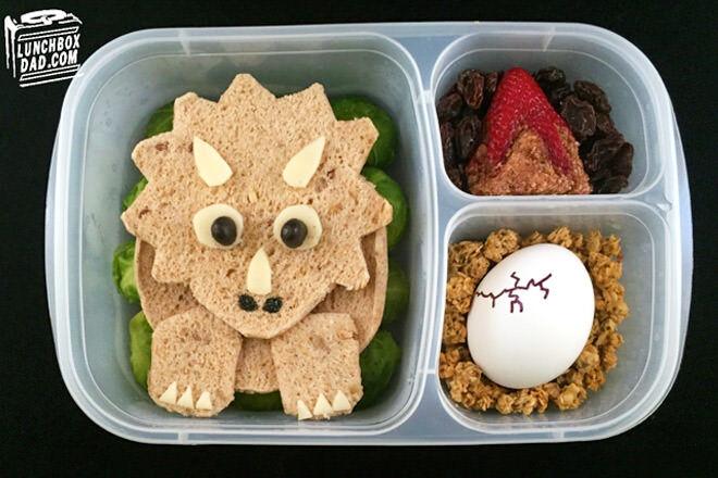 Dino bento lunch box