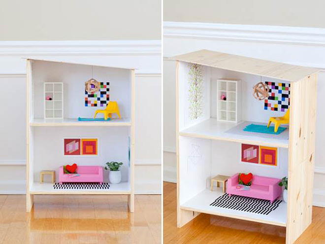 IKEA Hack - how to DIY your own doll house.