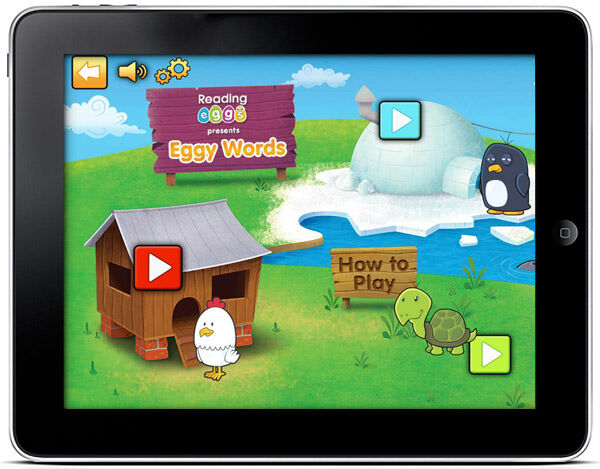Egg Words 250 sight words app