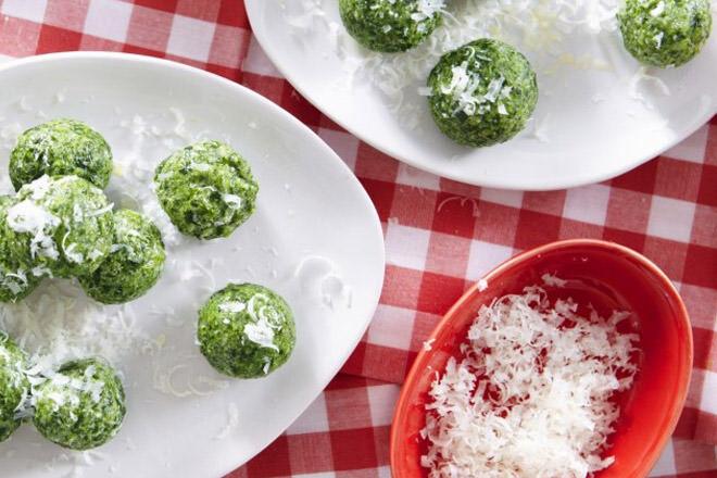 Spinach gnocc-wee