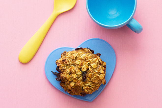 Nut-free toddler cookies