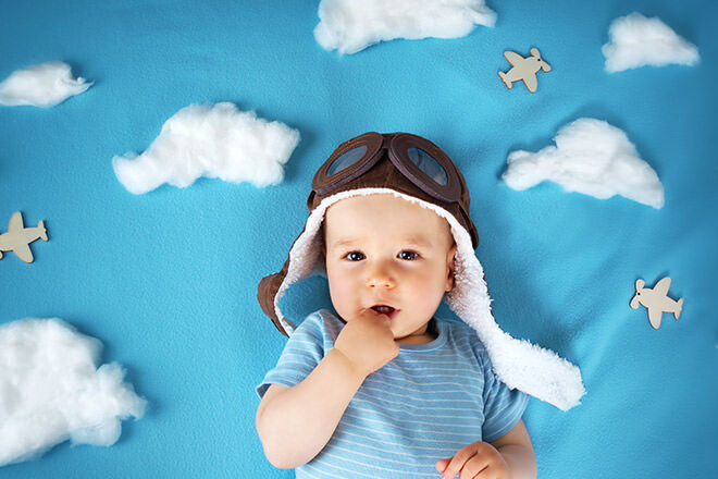 Top tips for flying with a baby