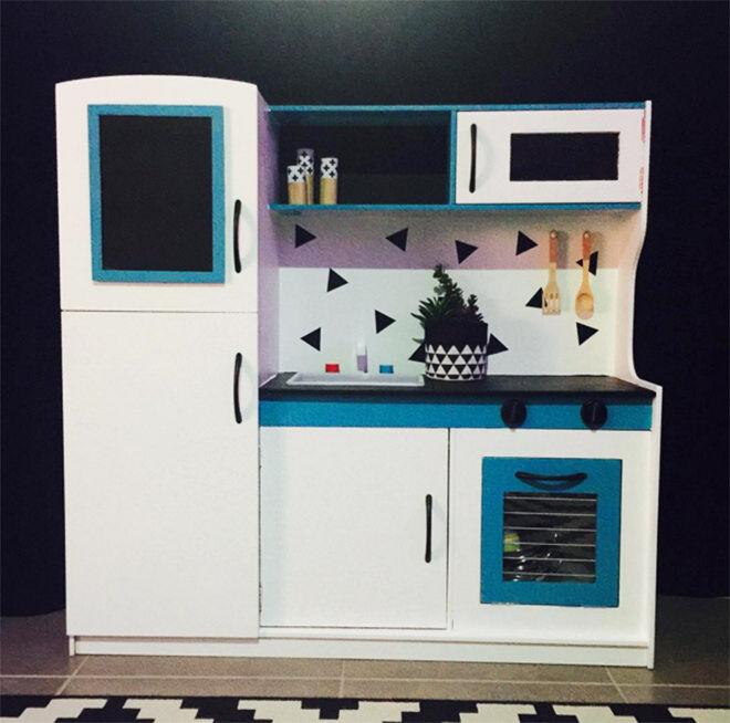 For the boys - the best hacks of the Kmart Kids Kitchen.