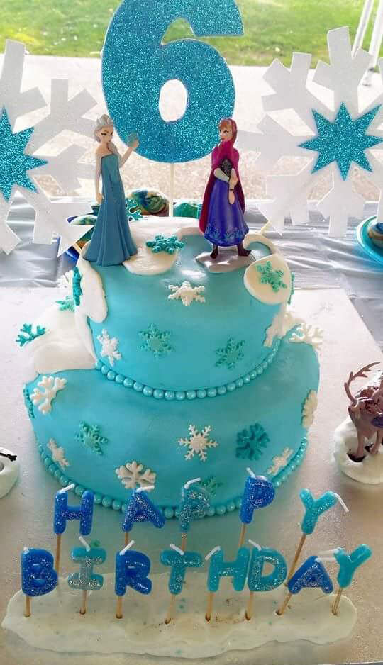 101 Frozen Cakes from Mum's Grapevine.