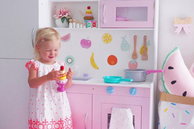 Kmart play kitchen hacks