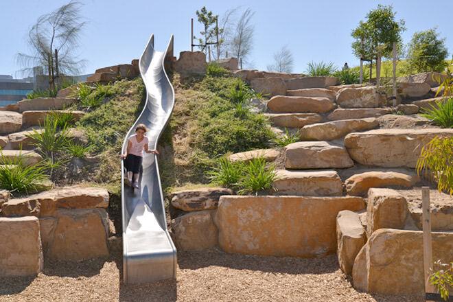 Royal Park nature playground, Parkville