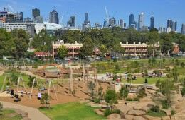 Melbourne's fab new playground at Royal Park