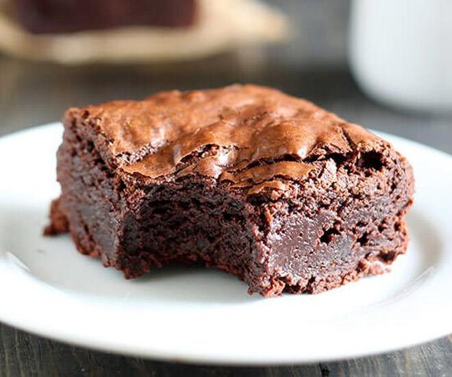 delicious Nutella brownies
