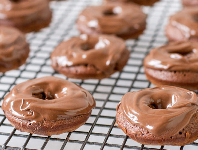 Nutella three-ingredient donuts
