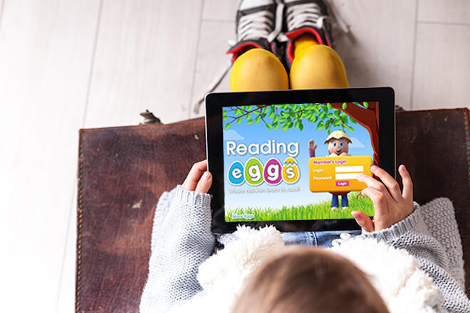 Reading Eggs app to help children learn to read