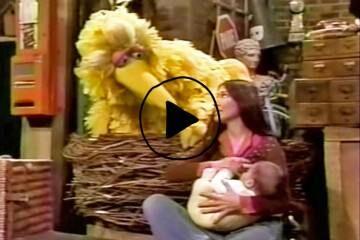 Buffy explains breastfeeding