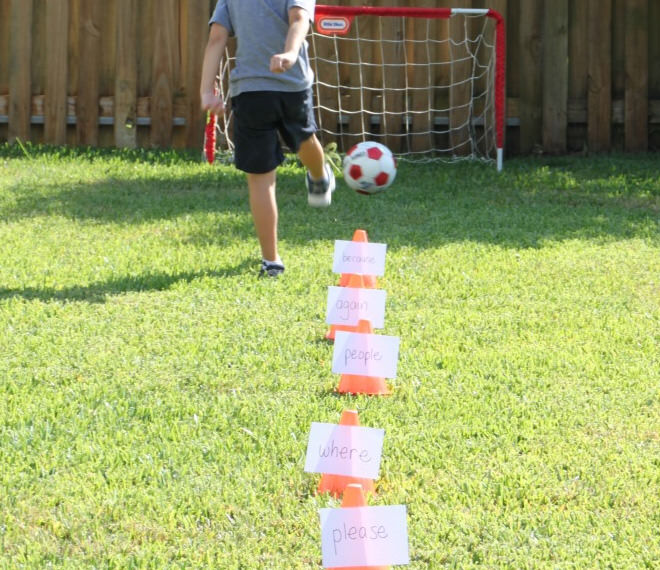 Soccer Sight Word Game