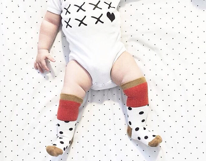 Kiss Me romper from 3 Little Foxes