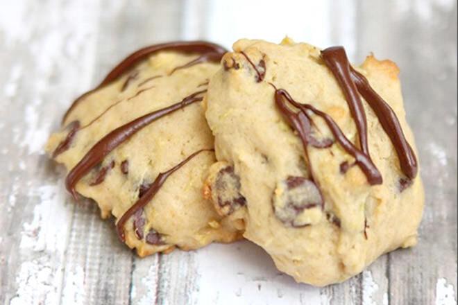 Delicious recipe for Zucchini chocolate cookies