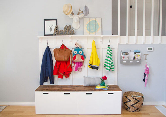 Ikea Stuva Hack - the best command stations for back to school.