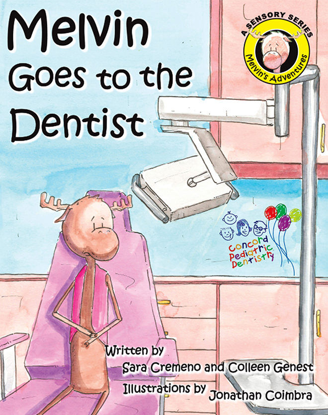 Melvin Goes to the Dentist - books about going to the dentist for the first time.