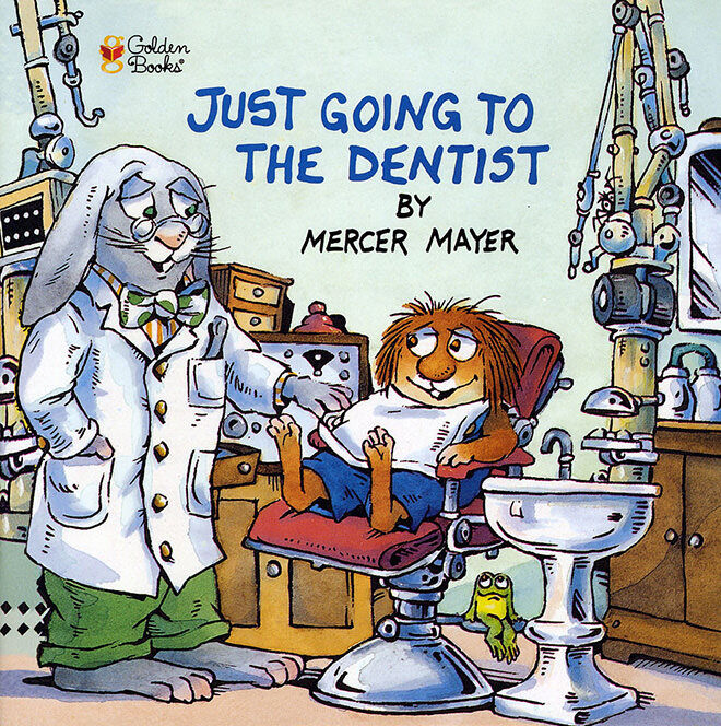 Just going to the Dentist - books about going to the dentist for the first time.