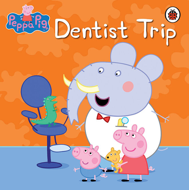 Peppa Pig - get the kids ready for their first trip to the Dentist.