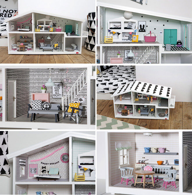 The Modern Life Lundy Dolls House Update - How to do a DIY Dolls house Reno
