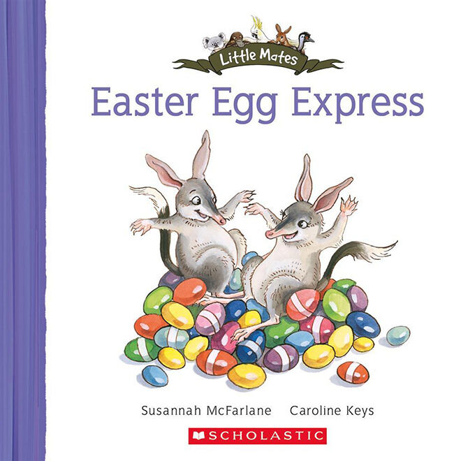 Easter Egg Express - books to read to kids about Easter.