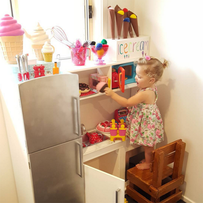 Silver lovin' - the best hacks of the Kmart Kids Kitchen.