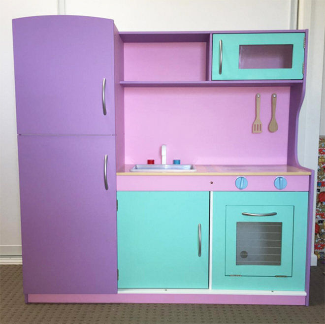 Purple power - the best hacks of the Kmart Kids Kitchen.