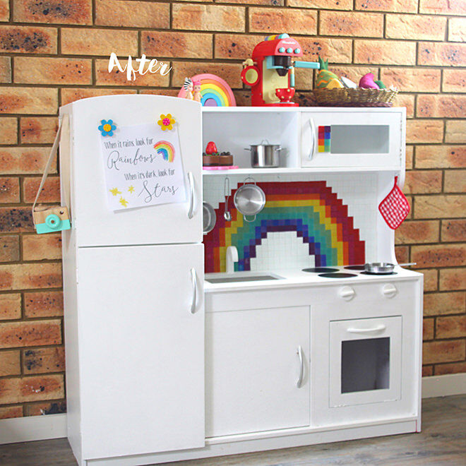 Rainbow fun - the best hacks of the Kmart Kids Kitchen.
