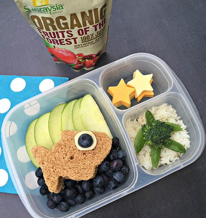 Under the sea bento lunchbox recipe from the Lunchbox Dad.