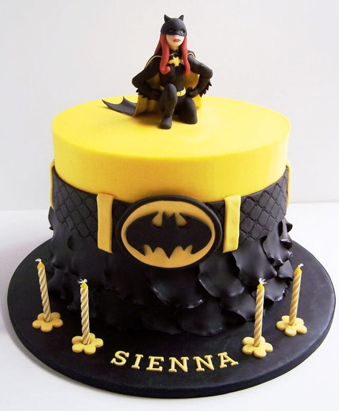 Happy Birthday Bat Cake
