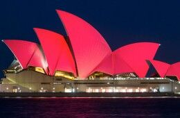 Chinese New Year 2016 Sydney Harbour Bridge