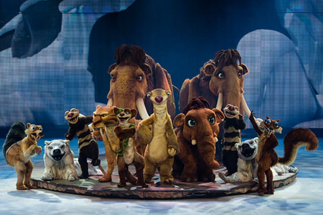 Go Nuts For Ice Age Live A Mammoth Adventure Mum S