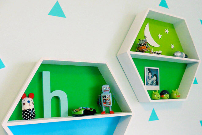 Kids room hacks made with Kmart pieces