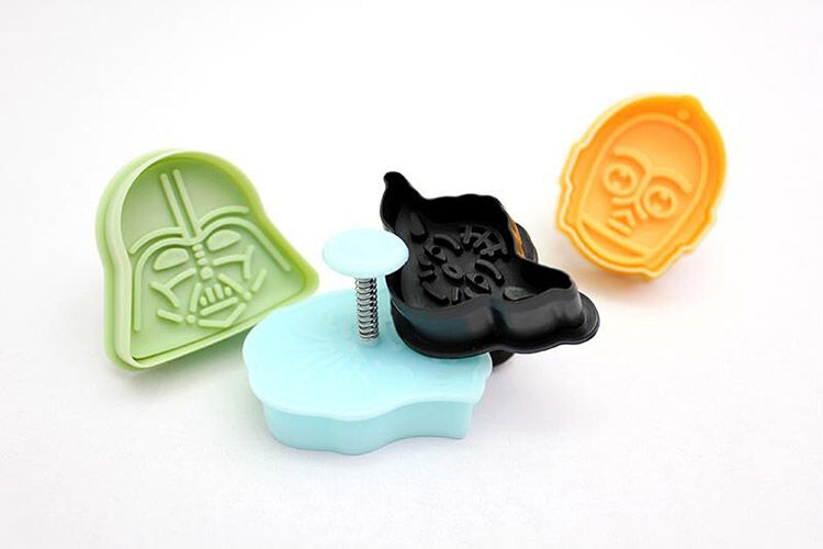 Star Wars cookie cutters set of four