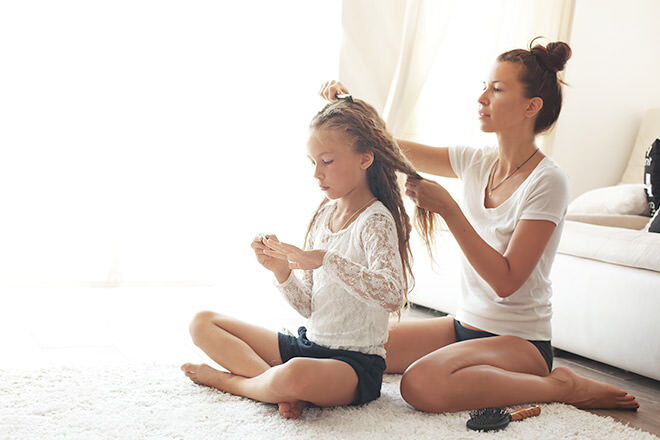 6 top tips on how to tame curly hair | Mum's Grapevine
