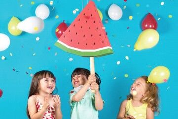 Doiy watermelon piñata